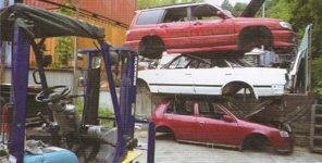 使用済自動車解体