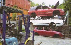 中古自動車解体
